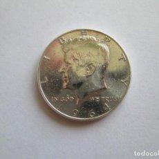 Monedas antiguas de América: ESTADOS UNIDOS * 1/2 DOLAR 1964 * PLATA. Lote 169614680