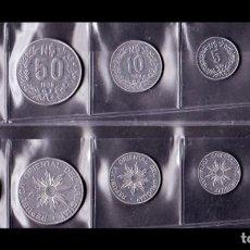 Monedas antiguas de América: URUGUAY SET 5 MONEDAS 1 5 10 50 100 NUEVOS PESOS 1989 SC- AUNC. Lote 222440947