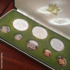 Monedas antiguas de América: PROOF SET DE MONEDAS DE TRINIDAD Y TOBAGO DEL AÑO 1975. Lote 169733440