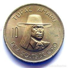 Monedas antiguas de América: MONEDAS DEL MUNDO . PERÚ . 10 SOLES DE ORO 1975 . SIN CIRCULAR. Lote 169741900