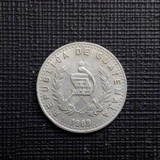 Monedas antiguas de América: GUATEMALA 10 CENTAVOS 1989 KM277.5. Lote 169962800
