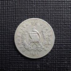 Monedas antiguas de América: GUATEMALA 10 CENTAVOS 1991 KM277.5. Lote 169962916
