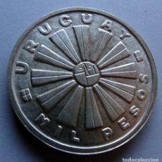 Monedas antiguas de América: MONEDA DE PLATA FAO DE LA REPÚBLICA ORIENTAL DEL URUGUAY DE 1.000 PESOS AÑO 1969. Lote 170360040