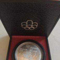 Monedas antiguas de América: CANADA .1976 . 5 DOLARES DE PLATA . XXI OLIMPIADA DE MONTREAL .COMO NUEVA, EN ESTUCHE ORIGINAL. Lote 170388652