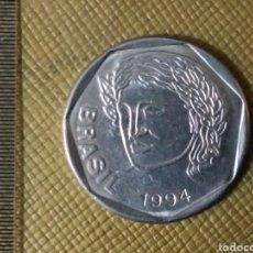 Monedas antiguas de América: 25 CENTAVOS 1994 BRASIL /9. Lote 170748005