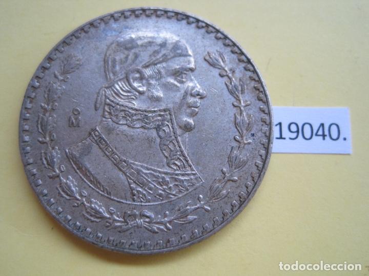 MEXICO 1 PESO 1959 PLATA (Numismática - Extranjeras - América)