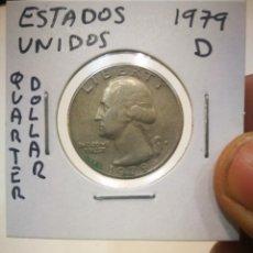 Monedas antiguas de América: MONEDA ESTADOS UNIDOS QUARTER DOLLAR 1979 D. Lote 171137812