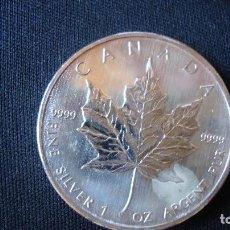 Monedas antiguas de América: ONZA PLATA CANADA 2007 MUY BUENA. Lote 171140782