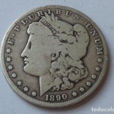 Monedas antiguas de América: MONEDA DE PLATA DE 1 DOLAR MORGAN DE 1890 O, ESTADOS UNIDOS CECA DE NUEVA ORLEANS, PESA 26 GRS. Lote 171257969