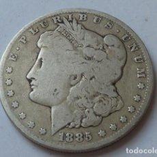 Monedas antiguas de América: MONEDA DE PLATA DE 1 DOLAR MORGAN DE 1885 O, ESTADOS UNIDOS CECA DE NUEVA ORLEANS, PESA 26 GRS. Lote 171258152