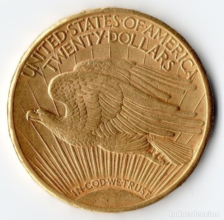Monedas antiguas de América: USA $20 1916 San Francisco Saint-Gaudens - Foto 2 - 171520274