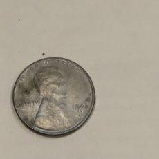 Monedas antiguas de América: MONEDA ONE CENT 1943D USA. VER FOTO. Lote 171591930