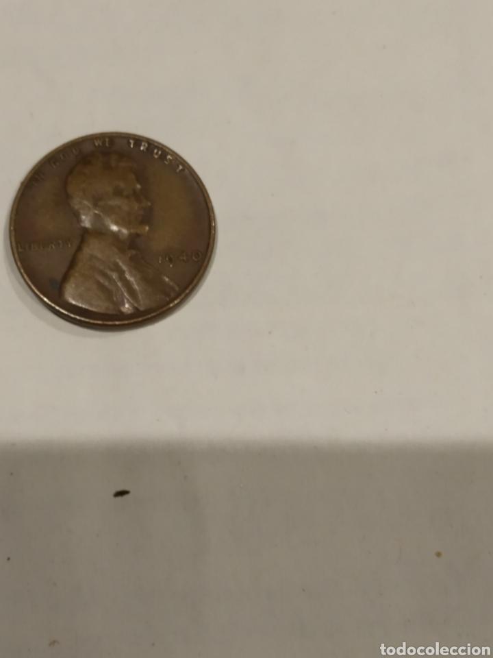 MONEDA ONE CENT 1940 USA. VER FOTO (Numismática - Extranjeras - América)