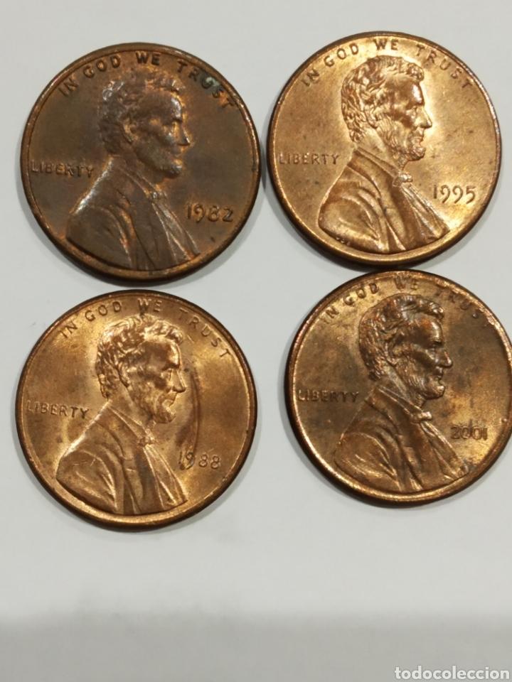 LOTE MONEDAS USA. ONE CENT . VER FOTO (Numismática - Extranjeras - América)