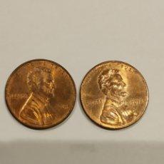 Monedas antiguas de América: LOTE 2 MONEDAS ONE CENT 2013 Y 2014 . VER FOTO. Lote 171708388