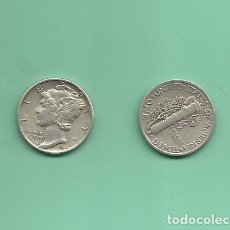 Monedas antiguas de América: MONEDA DE PLATA DIME 1941 MONEDA DE 2,5 GRAMOS DE LEY 0,900. Lote 171809797