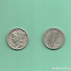 Monedas antiguas de América: MONEDA DE PLATA DIME 1940 MONEDA DE 2,5 GRAMOS DE LEY 0,900. Lote 171812999