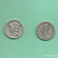 Monedas antiguas de América: MONEDA DE PLATA DIME 1936 MONEDA DE 2,5 GRAMOS DE LEY 0,900. Lote 171813820