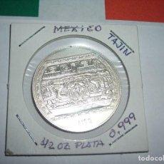 Monedas antiguas de América: MONEDA DE ½ ONZA DE PLATA PURA DE LOS ESTADOS UNIDOS MEXICANOS (EL TAJIN). S / C.. Lote 171991402