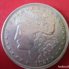Monedas antiguas de América: ESTADOS UNIDOS. UN DOLAR DE 1921. FILADELFIA. Lote 172012078