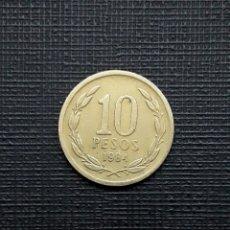 Monedas antiguas de América: CHILE 10 PESOS 1984 KM218.1. Lote 172255310