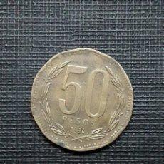 Monedas antiguas de América: CHILE 50 PESOS 1994 KM219.2. Lote 172255912