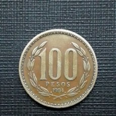 Monedas antiguas de América: CHILE 100 PESOS 1984 KM226.1. Lote 172256033