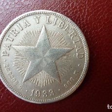 Monedas antiguas de América: CUBA,1 PESO 1933-ONZA DE PLATA.. Lote 172311763