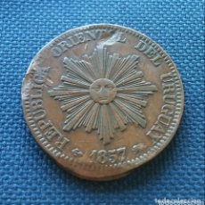 Monedas antiguas de América: 20 CTS 1857 URUGUAY.. Lote 172524062