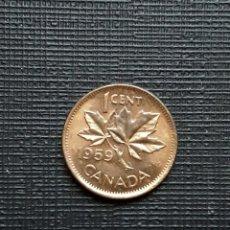 Monedas antiguas de América: CANADÁ 1 CENT 1959 KM49. Lote 172856808