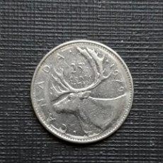 Monedas antiguas de América: CANADÁ 25 CENTS 1979 KM74. Lote 172862600
