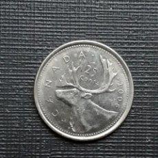 Monedas antiguas de América: CANADÁ 25 CENTS 2008 KM493 P. Lote 172862742