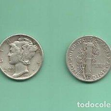 Monedas antiguas de América: MONEDA DE PLATA DIME 1941 MONEDA DE 2,5 GRAMOS DE LEY 0,900. Lote 173097973