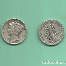 Monedas antiguas de América: MONEDA DE PLATA DIME 1940 MONEDA DE 2,5 GRAMOS DE LEY 0,900. Lote 173098057