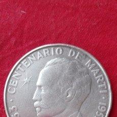 Monedas antiguas de América: MONEDA PLATA.CENTENARIO DE JOSÉ MARTÍ.CUBA 1953. Lote 173115127