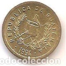 Monedas antiguas de América: GUATEMALA,1 CENTAVO 1994.. Lote 173399233