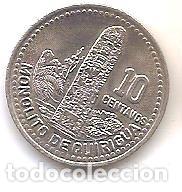 GUATEMALA,10 CENTAVOS 1994. (Numismática - Extranjeras - América)