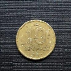 Monedas antiguas de América: ARGENTINA 10 CENTAVOS AUSTRAL 1987 KM98. Lote 173481905
