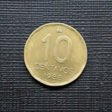 Monedas antiguas de América: ARGENTINA 10 CENTAVOS AUSTRAL 1988 KM98. Lote 173481939