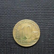 Monedas antiguas de América: ARGENTINA 10 CENTAVOS 1948 KM41. Lote 173482050