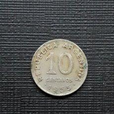 Monedas antiguas de América: ARGENTINA 10 CENTAVOS 1955 KM51. Lote 173482134