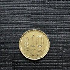 Monedas antiguas de América: ARGENTINA 10 CENTAVOS 1970 KM66. Lote 173482172