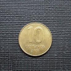 Monedas antiguas de América: ARGENTINA 10 CENTAVOS 2008 KM107. Lote 206404826