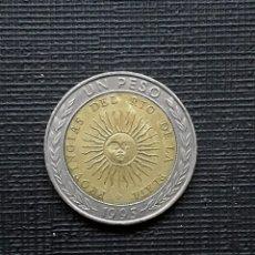 Monedas antiguas de América: ARGENTINA 1 PESO 1995 KM112.1 ERROR PROVINGIAS. Lote 173502453