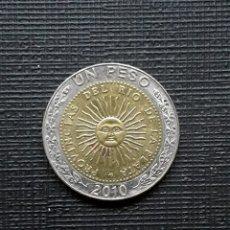 Monedas antiguas de América: ARGENTINA 1 PESO 2010 KM112.1. Lote 206404888
