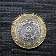 Monedas antiguas de América: ARGENTINA 2 PESOS 2010. Lote 206404907