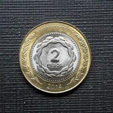 Monedas antiguas de América: ARGENTINA 2 PESOS 2014. Lote 173503624
