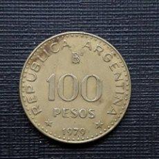 Monedas antiguas de América: ARGENTINA 100 PESOS 1979 KM85. Lote 173504338
