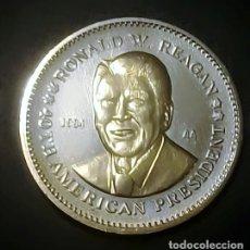 Monedas antiguas de América: MEDALLA PRESIDENCIAL DE LOS ESTADOS UNIDOS RONALD W. REAGAN. Lote 173538454