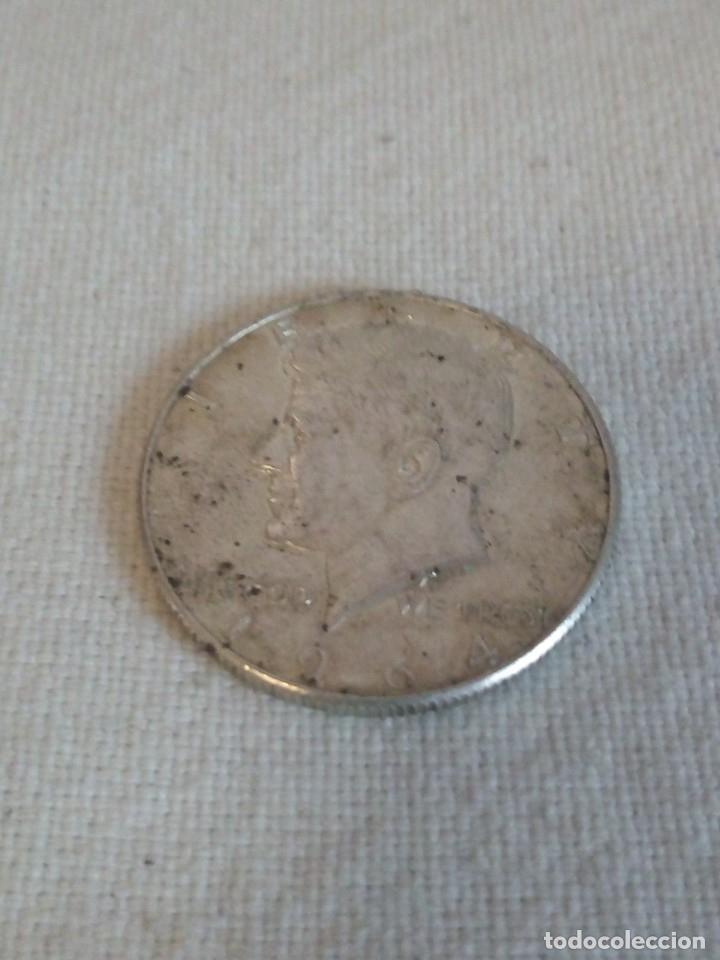 Monedas antiguas de América: moneda liberty 1964 half dollar ,plata - Foto 2 - 173576437
